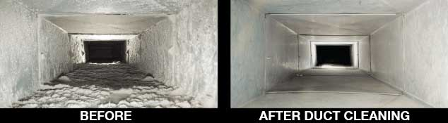 Nashville Duct Cleaning Services - Before & After