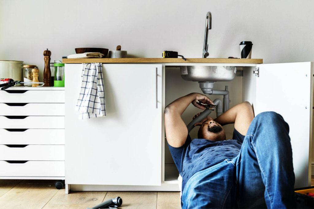 Kitchen plumbing repair
